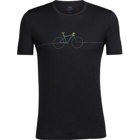Icebreaker Tech Lite Cadence t-shirt Heren zwart